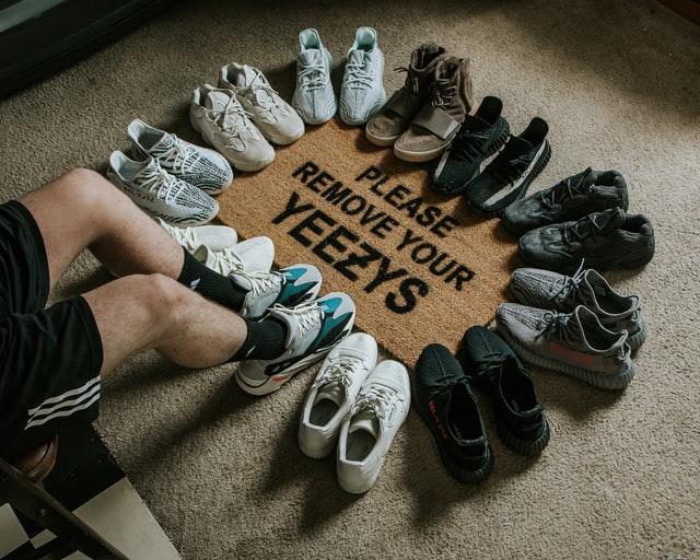 Skilsmässa sneakers